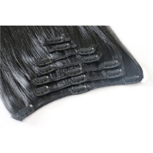 Wholesale Cheapest 100% Indian clip in hair extension