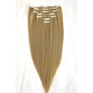 Wholesale Cheapest Full Head Clip On Hair Extensions