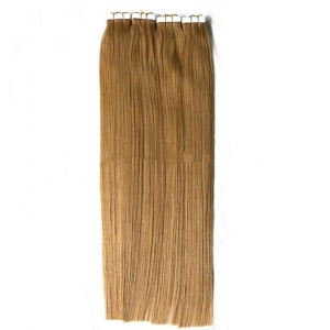 Wholesale Hand Tied Tape In Hair Extentions with High Grade Brazilian Human Hair
