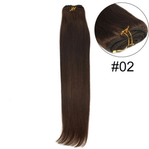Wholesale Indian virgin hair 100% hand tied virgin indian remy hair weft