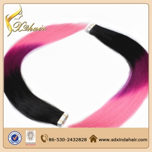 Wholesale Tape In Hair Extentions 100% European Hair Tape Human Hair Extension