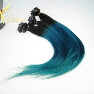 Wholesale Unprocessed Natural Virgin Remy indian Human Hair weave clip in hair extension