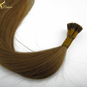 Wholesale alibaba high quality grade 7a i tip hair extension 40 inch