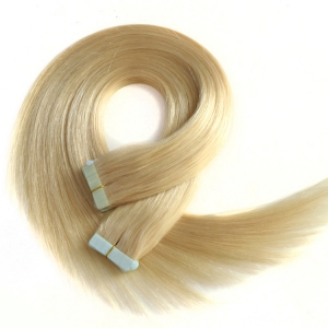 Wholesale cheap double drawn fast shipping ombre tape hair extensions with highlights