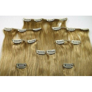 Wholesale cheap price most popular human Virgin Brazilian Clip in Hair Extension