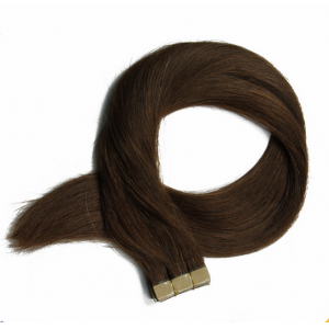 Wholesale straight hair, 100% brazilian human hair, tape hair extension