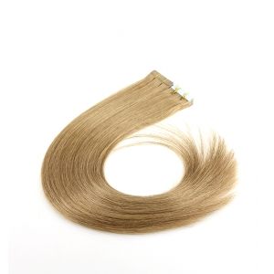 double drawn 8a grade dark brown 2.5g/piece skin weft 100% virgin brazilian indian remy human hair PU tape hair extension