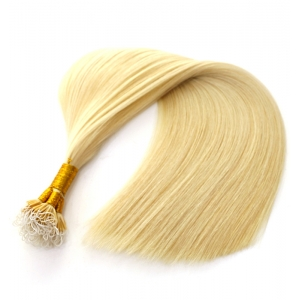 double drawn cheap blonde color #613 100% virgin brazilian indian remy human hair nano link ring hair extension wholesale