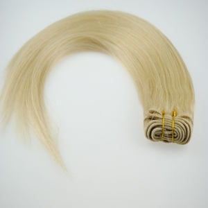factory price human weft hair extensions