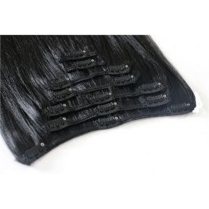 hot selling Wholesale Cheapest Full Head Clip On Hair Extensions