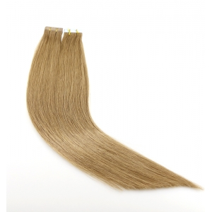 indian temple hair 8a grade skin weft 100% virgin brazilian indian remy human hair PU tape hair extension