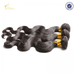 raw unprocessed classi 100% indian human hair extensions silky straight hair weaving