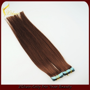wholesale price pu skin hair weft hair extension