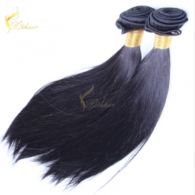 China 100% Remy Brazilian Human Hair Unprocessed Natural Black Color Weft Weave Body Wave18