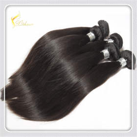 China 100% unprocessed human hair weaving wholesale 100% brazilian hair weave on sales