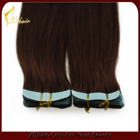 China 2015 best sellers world best selling products virgin remy hot sale tape hair extensions factory