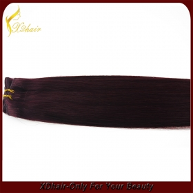 China 2015 year wholesale most popular hair weft 100% human top quality thick bottom factory