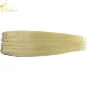 China 2016 Best selling china factory wholesale unprocessed 613 blonde hair weave 9a factory