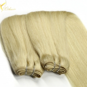 China 2016 directly factory price top quality blonde virgin indian hair factory