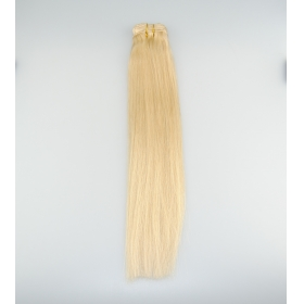 TSín 2016 wholesale alibaba full head blonde color 100% human hair weave 18inch cheap virgin peruvian hair mhonarcha