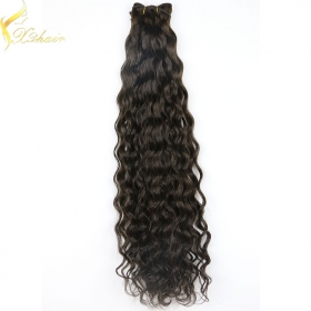 La fábrica de China Alibaba stock price top quality curly hair weave for black women