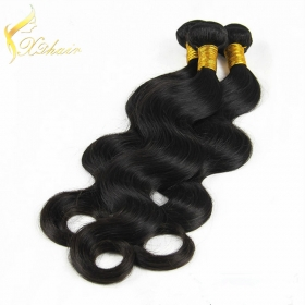 Кита High Quality Brazilian Body Wave Human Hair Weave1b#  1 Bundle 20