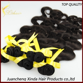 China Hot sale high quality wholesale body wave double wefted 100% peruvian body wave hair factory