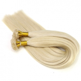 China In stock fashion hot sale fusion flat tip hair extensions factory