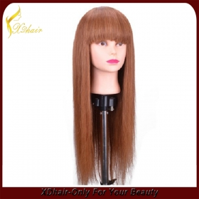 La fábrica de China Machine made wigs synthetic hair long hair wigs high quality light extension