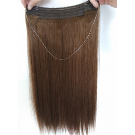 La fábrica de China New arrival factory price dark color flip high quality in hair extension