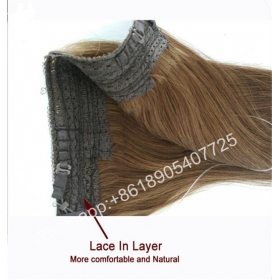 China Top selling unprocessed halo hair natural 613 blonde russian hair extension virgin straight hair-Fabrik