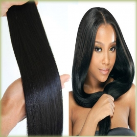 China Wholesale 10-30 Inch  Cheap Human Hair Remy Brazilian Virgin Hair Straight factory
