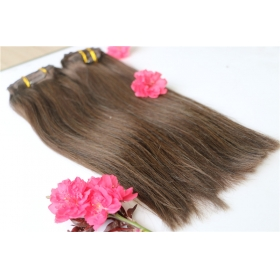 La fábrica de China Wholesale clip in hair extensions for white women