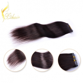 Chine Wholesale sassy virgin remy brazilian tape hair extensions usine