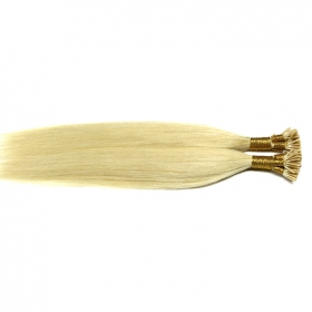 China Wholesale silky straight double drawn remy 1g pre bonded keratin tip machine hair extensions-Fabrik