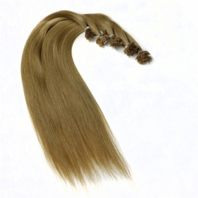 China aliexpress china free shipping 100% virgin brazilian indian remy human hair flat tip hair extension fábrica