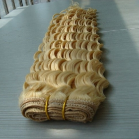 China best quality silky straight mix piano color 100 percent indian remy human hair factory