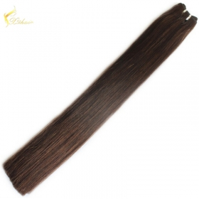 China cheap 24 inch human hair weave extension online 100% brazilian hair weave fast shipping factory