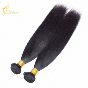 China cheap brazilian hair weave bundles,virgin brazilian straight hair,brazilian silky straight cheap human hair weft factory
