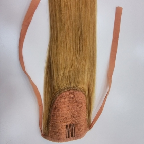 La fábrica de China clip in ponytail human hair extension 100% human hair