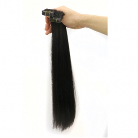 China single sided hair tape skin weft Remy Virgin Brazilian Human tape hair extensions factory