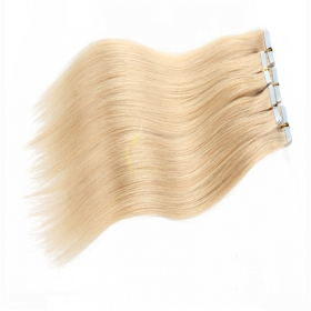 Chine soft virgin remy human hair tape in/pu hair extensions for cheap brazilian hair usine