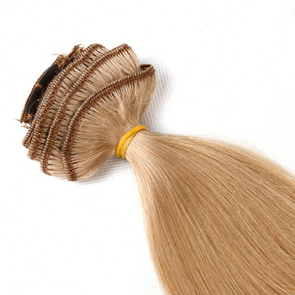 100 Human Hair Clip In Hair Pieces With High Are Easiest And Most