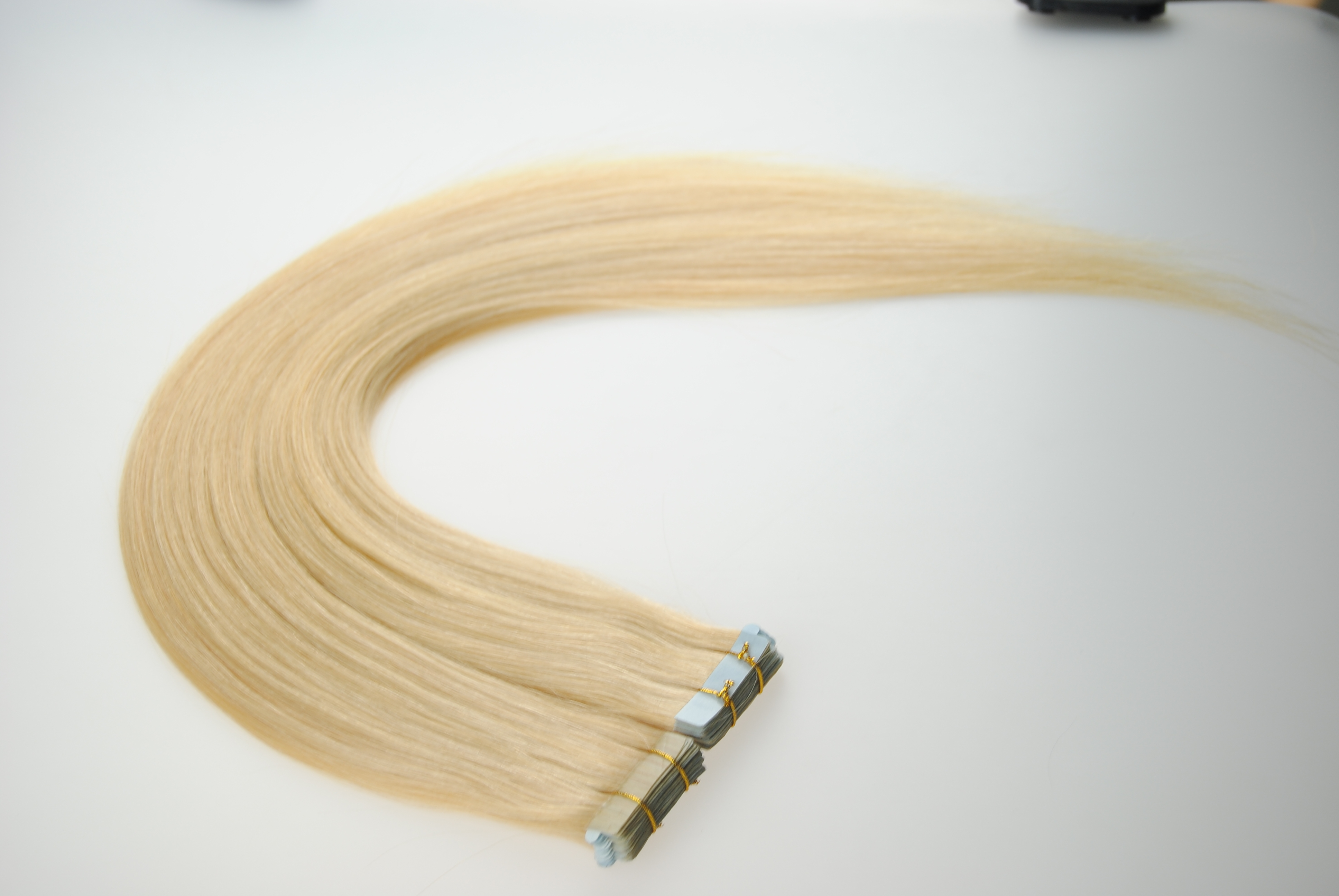 1b Color Brazilian 8 30 Inches Glue Tape In Hair Extensions Seamless