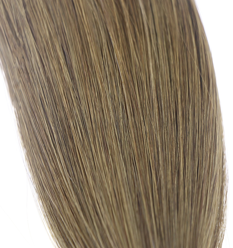2016 hot selling product lightest blonde #60 color virgin brazilian indian remy human hair seamless flat tip hair extension