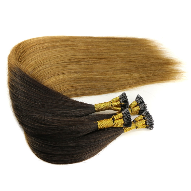 Top Grade Double Drawn Ombre 2t Color I Stick Tip Hair Extensions