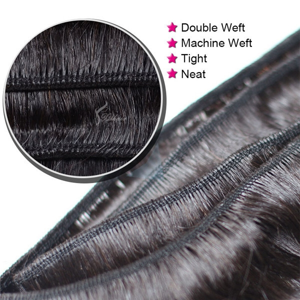 24inches natural straight #1b wholesale brazilian virgin hair weave bundles free weave hair packs