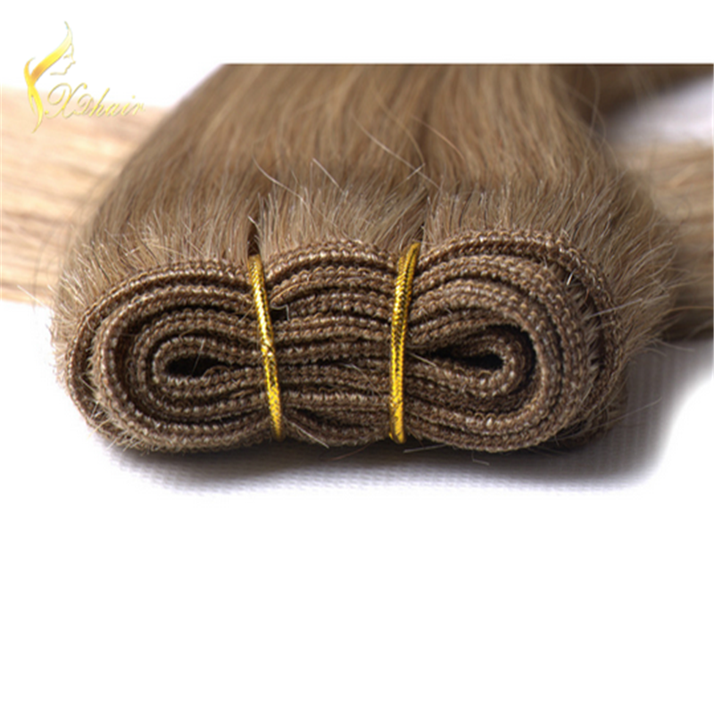 9A grade European blond human hair wefts, blonde brazilian hair weft