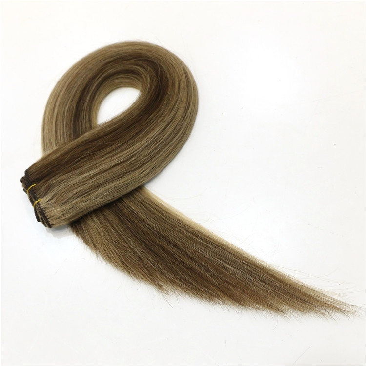 Aliexpress china piano color 100% Brazilian virgin remy human hair weft double weft silky straight wave hair weave