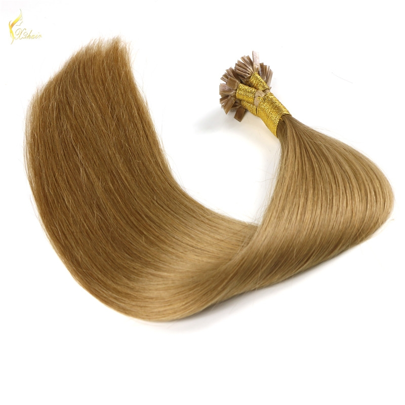 All express products wholesale keratin protein brazilian human hair flat tip hair hot online market